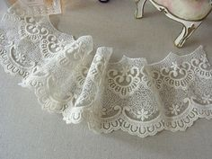 Embroidery Tulle Lace Trim Dress lace accessories by Laceshine