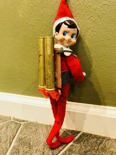 Elf on the shelf DIY rocket jet pack