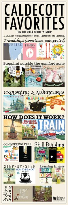 Caldecott Favorites for 2014