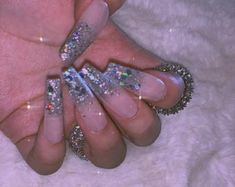 Long French Nails, French Gel, Glue On Nails, Gel Nails, Drip Nails, Nail Nail, Manicures, Coffin Press On Nails, Coffin Nails Long