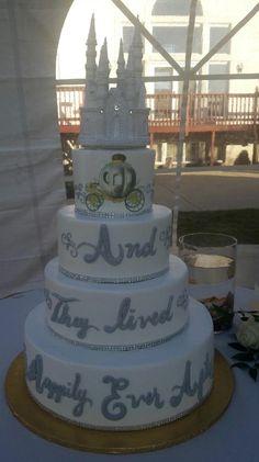 Calumet Bakery Wedding Cake Carriage and Castle