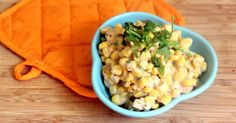 This creamed corn recipe is warm, comforting, and filling. You'll never realize it's vegan!