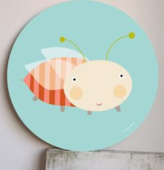 Image of Cuadro infantil Bichobola- wall art