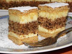 Hungarian Recipes, Hungarian Food, Nutella, Tiramisu, Panna Cotta, Cake Recipes, French Toast, Food And Drink, Cooking Recipes