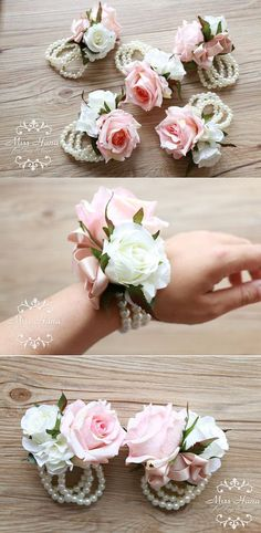 22 trendy ideas for garden rose corsage white Garden Corsage And Boutonniere, Flower Corsage, Boutonnieres, Diy Wedding, Wedding Gifts, Dream Wedding, Wedding Ideas, Blush Rosa, Blush Pink