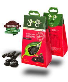 SteviElle reinventeaza dulcele! Renuntam la zahar si facem dulciurile sanatoase! Stevia, Candy, Food, Sweet, Toffee, Meal, Candy Notes, Essen, Candles