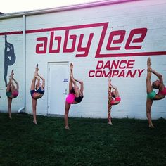 Club Dance scorpions under the ALDC sign