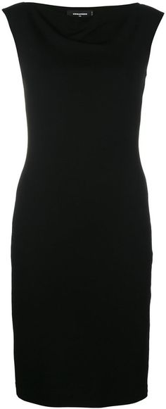 Dsquared2 cowl neck dress