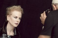 Captivating: In behind-the-scenes shots released on Sunday,the likes of Nicole Kidman, Kate Winslet and Penelope Cruz are revealed as models for 2017 edition of the Pirelli calendar
