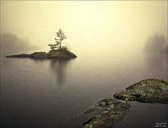 The Little Island Again... by Staale N, via Flickr...solitude