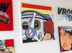 Le Brand Store BMW George V présente l'exposition « Michel Vaillant Art Strips » et la BMW Z4 GT3 by Michel Vaillant ayant couru aux 24h de Spa-Francorchamps.