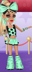 baby blue moviestarplanet outfit