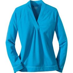 Cabela's Women's Essential Fleece V-Neck Pullover at Cabela's, have this in blue and purple soo comfy!!