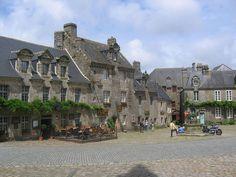 Locronan (Finistère) Belles maisons du XVIIe siècle