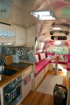 Airstream remodeled- Spokeshave Devon Bespoke Furniture Gallery
