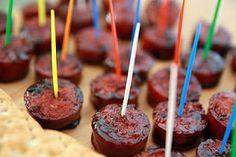 Lauren's Kitchen: Superbowl Snack Throwdown: Mom's Super Easy Kielbasa Bites
