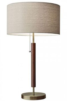 "Home Decorators Collection - Harvey Table Lamp. 100 watt max. 26.25""H x 15""Diam.  $129 retail"