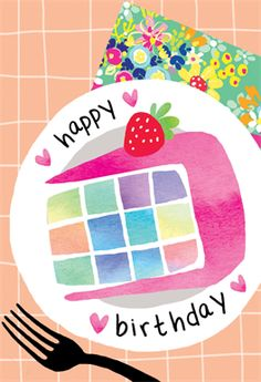 'Party Plating' - Birthday card template you can print or send online as eCard for free. Happy Birthday 1, Birthday Drinks, Birthday Posts, Happy Birthday Messages, Happy Birthday Images, Happy Birthday Greetings, Birthday Cake, Diy Birthday, Birthday Blessings