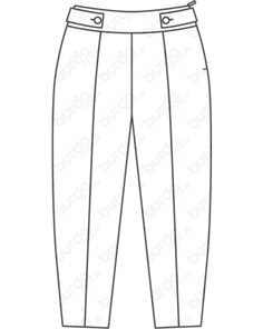 Magazin Schnitt Hose 09/2018 #124 Paisley, Style Magazin, Trousers, Pajama Pants, Pajamas, Plus Size, Fashion, Striped Shorts, Trousers Fashion