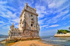 Belem Tower is now by UNESCO as world cultural heritage, as a mark of lisbon. It stands in the Tejo shore in Hebei, is one of two famous tower of Belem shore. This tower is not only a witness of Portugal once brilliant historical sites, but also of Lisbon's most tourists on the lens of a scenic spot.