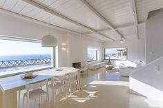 House in Kea Kithnos, Greece. Luxurious Zen Villa is a beautiful high quality accommodation with exquisite minimal set up and decoration, all in white. Outdoor spaces are ambient (pool, BBQ, shaded parts) allowing you to make the most of Cycladic summer living ...  Luxurious Z...