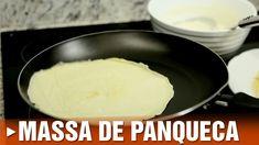 Aprenda como fazer massa de panqueca! #receita #recipe #panqueca #pancake #cybercook #cook
