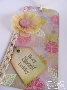 Gitas Corner: Sparkle N Sprinkle April Blog Hop ~~Anything But A Card