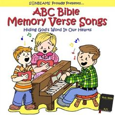 ABC Bible Memory Verse Songs - Learning your Bible verses has never been easier, or more enjoyable! Sonbeams has 26 songs teaching the ABC Bible verses Bible Verse Memorization, Children's Bible, Bible Verses, Kids Bible, Childrens Bible Songs, Verses For Kids, Homeschool Curriculum, Homeschooling, Memory Verse
