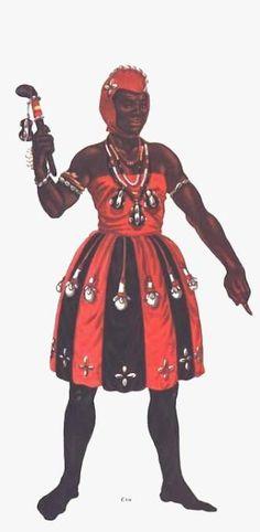 Exú ou Esu é o guardião dos templos, encruzilhadas, passagens, casas, cidades e das pessoas, mensageiro divino dos oráculos. - linhadasaguas.com.br