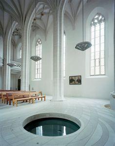 Zentrum Taufe St. Petri-Pauli-Kirche, Lutherstadt Eisleben AFF architekten