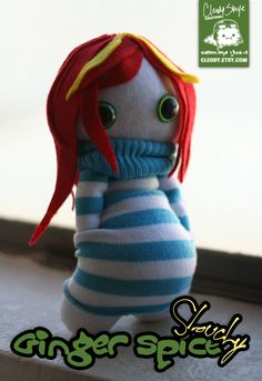Ginger Spice Slouchy by cleody.deviantart.com on @deviantART