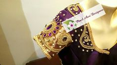 Bridal blouse with heavy stone work