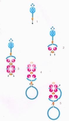 Free pattern for bracelet Ivrea | Beads Magic