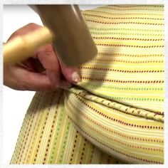 10 Generous Tips: Upholstery Fabric Cleaner upholstery nails head boards.Upholstery Repair Step By Step upholstery techniques fabrics.Upholstery For Beginners Pillow Tutorial. Furniture Reupholstery, Reupholster Furniture, Refurbishing Furniture, Furniture Repair, Upholstered Furniture, Upholstery Tacks, Upholstery Cleaning, Upholstery Repair, Upholstery Cushions