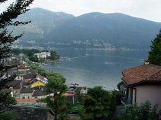 Ascona, Lago Maggiore (Langensee) Aufnahme