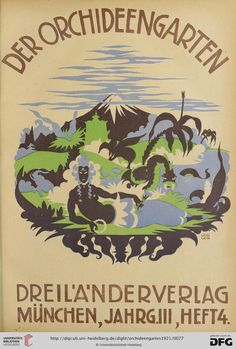 Max Leidlein, Der Orchideengarten : phantastische Blätter — 3.1921