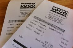 Receipts from any store, any town, any amount