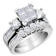 looks almost like the one i'll be getting just bigger and will be all princess cut
