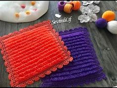 5 Minute Crafts Videos, Craft Videos, Weaving Patterns, Baby Knitting Patterns, Diy Gift Box, Modern Crochet, Crochet Stitches, Diy And Crafts, Make It Yourself
