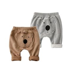 Like and Share if you want this  Bear Unisex Style Baby Harem Pants     Tag a fr...