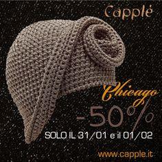 #black #capple #friday #special www.capple.it | Special Sale only 31/01 & 01/02 - Black Friday Crochet Summer Hats, Crochet Winter, Freeform Crochet, Knit Crochet, Sombrero A Crochet, Knitting Patterns, Crochet Patterns, Funky Hats, Winter Hats For Women
