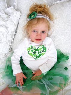 Trinity's St. Patricks Day shirt but her's has a different fabric to match the boys!
