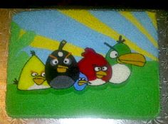 Angry Birds Birthday Cake Angry Birds Birthday Cake, 6th Birthday Cakes, Cakes And More, Birthdays, Party, Ideas, Birthday, Receptions, Thoughts