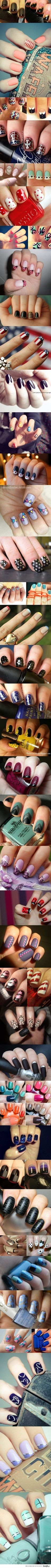 Nails Designs Beginners UV Gel Nail with a Tip and Overlay