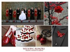 red black and white wedding ideas | ... black, white and red. It is perfect for a New Year's Eve wedding