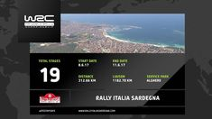 cool WRC - Rally Italia Sardegna 2017: The 19 Stages
