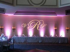 LED Lighting and Monogram