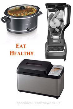 These kitchen appliances will help insure that your family gets valuable and healthy nutrition.