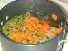 Fleisch Klösschen Suppe - Soup with Tiny Meat Balls