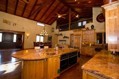 Central California Luxury Ranch Gorgeous Kitchen! 7585 O'Donovan Rd, Creston CA  http://www.sothebysrealty.com/eng/sales/detail/180-l-590-dp7h6c/equestrian-lovers-dream-creston-ca-93432
